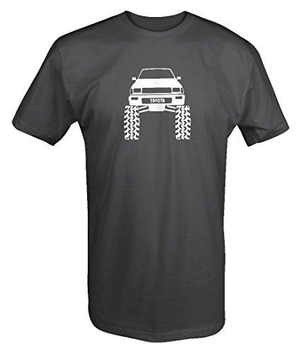 Toyota SR5 4Runner Offroad Lifted Mud Tires Truck T shirt -Medium