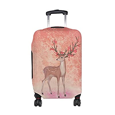 LEISISI Tie Dye Luggage Cover Elastic Protector Fits XL 29-32 in Suitcase