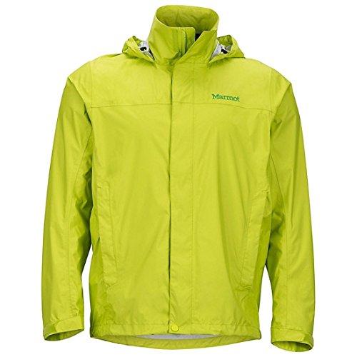 Marmot Men's PreCip Rain Jacket - Bright Lime, Small