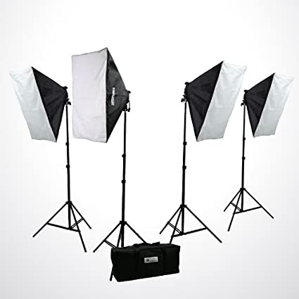 ePhoto H9004S4 3200 Watt Digital Photography Photo Video Continuous Lighting Light Kit Carrying Case & Amazon.com : ePhoto H9004S4 3200 Watt Digital Photography Photo ...