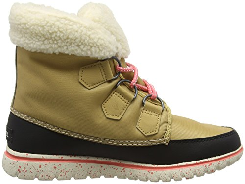 Sorel Womens Carnival Snow Boot Boot Curry, Nero