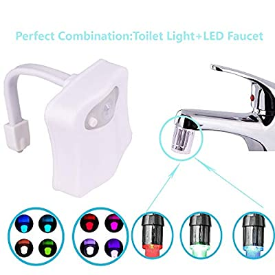 For LED Gradient Water Faucet Parts
