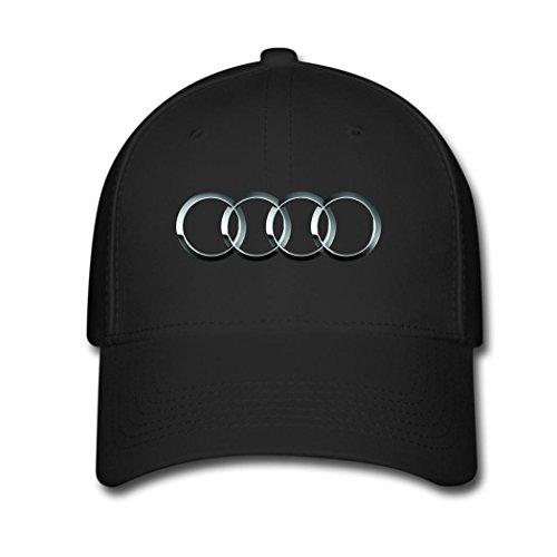 opeeda-black-adjustable-baseball-caps-for-men-women-printed-audi-logo