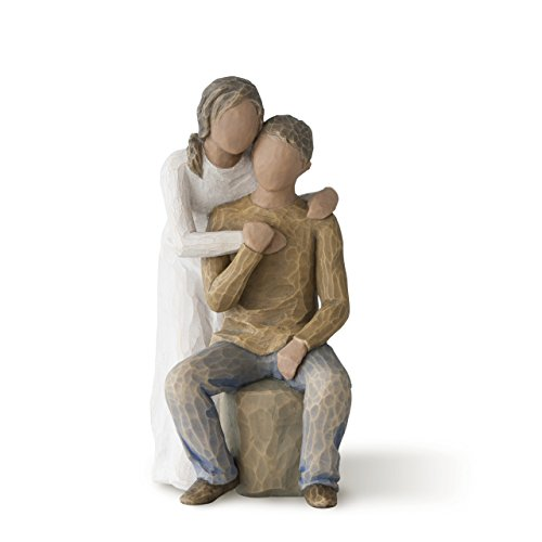 - Willow Tree You and Me (darker skin tone & hair color), sculpted hand-painted figure