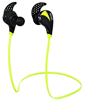 Silicon Devices Wireless Bluetooth Headphones Noise Cancelling Headphones w/ Microphone Sports / Running / Gym / Exercise Wireless Bluetooth Earbuds Headset Earphones for iPhone 6, 6 Plus, 5 5c 5s 4 and Android