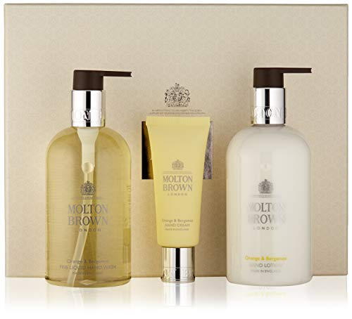 (Molton Brown Orange & Bergamot Hand Rituals Gift Set, 10 Fl. Oz.)