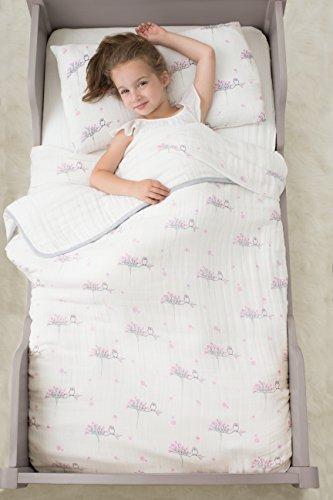 aden anais classic toddler bed in a bag for the birds kids bedding sets toddler bedding. Black Bedroom Furniture Sets. Home Design Ideas