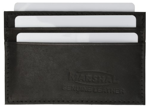 Marshal Genuine Leather Men or Women Credit card holder