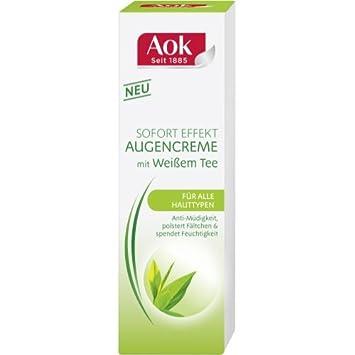 Aok Augenpflege Weißer Tee 15 Ml 1er Pack Amazonde