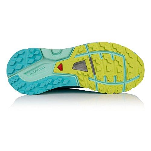 SENSE PRO MAX - Zapatillas de trail running - blue curacao/beach glass/acid lime SAzBYRM