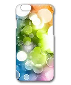 iCustomonline Colorful Foam Designs Case Back Cover for iPhone 6 (4.7 inch) 3D PC Material