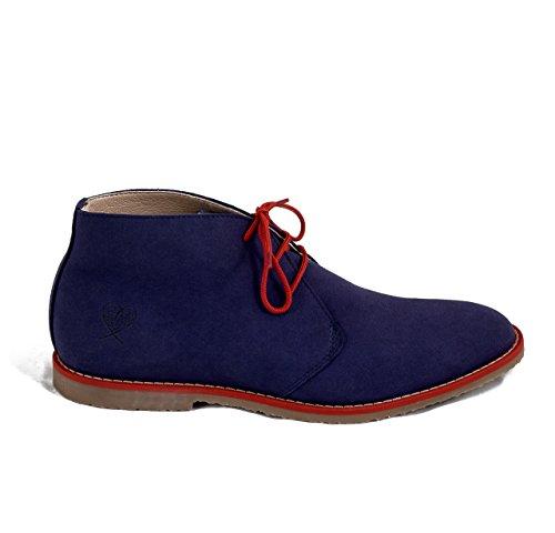 NAE Lagos Blue - Men's Vegan Boots tuBChcxfn