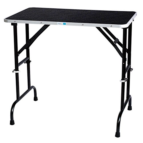 Master Equipment Adjustable Height Grooming Table for Pets, 30 by 18-Inch