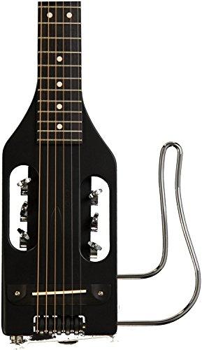 (Traveler Guitar ULST BLK Ultra-Light Steel Acoustic/Electric Travel Guitar (Black))