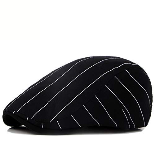 A adelante Boina Rayas una la señoras Sombreros de qin hacia GLLH de algodón Pato Hombres de los Lengua a hat Sombreros Damas Sombreros Sombreros xqA8gCRwS