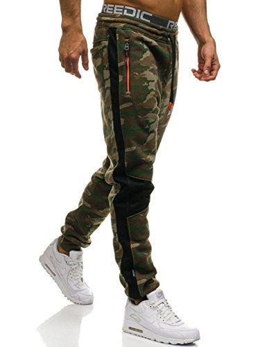 Motivo 3782b Jogger Multicolor 6F6 Hombre Mix Pantalones Fitness Entrenamiento BOLF Deporte q6vnWWg