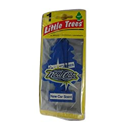 Little Trees Car Freshener New Car Scent (24 Pack)