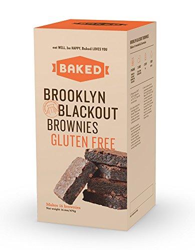 Baked Gluten Free Brooklyn Blackout Brownie,  16.6 Ounce
