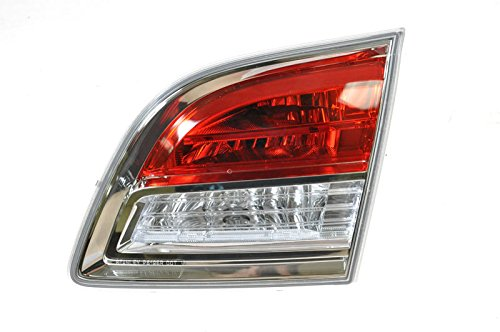 Inner Inside Taillight Taillamp Passenger Side Right RH for 07-09 Mazda CX-9 CX9 (2007 Mazda Cx 7 Tail Light Assembly)