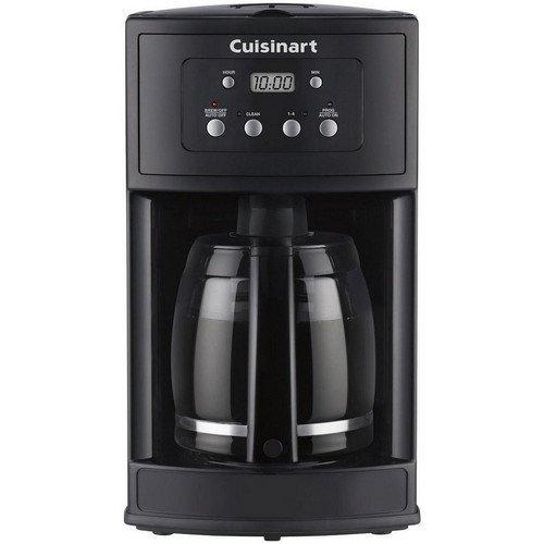 Cuisinart DCC-500FR 12 Cup Programmable Coffeemaker (Certified Refurbished), Black