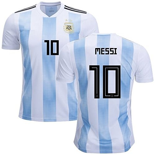 1c8d2db99 Argentina Lionel Messi  10 Soccer Jersey Men s Adult Home Away World Cup  Short Sleeve