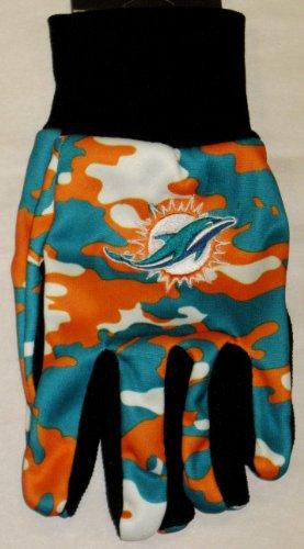 Miami Dolphins Utility Glove - -