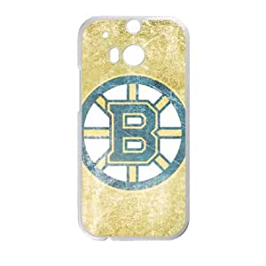 HTC One M8 Case White Boston Bruins Cell Phone Case Cover O8N8CD