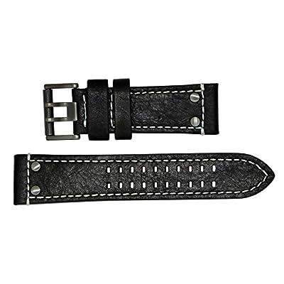 Luminox 1920 Black Leather Strap