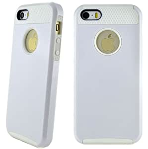 Candy Color Case for Apple iPhone 5/5s (White)
