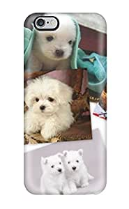 For Mary David Proctor Iphone Protective Case, High Quality For Case Cover For SamSung Galaxy S5 Puppies Skin