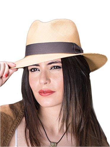 Gamboa Panama Hat -Plantation (Grade 5-6) Light Brown - - Plantation Mall