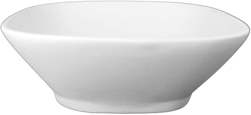 Slumpys Studio Ceramics Retro Bowl Mold for Glass Slumping SM-143-P 7.25 L x 7 .125 W x 2.5