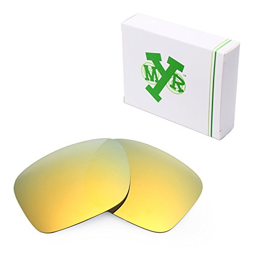 Mryok Polarized Replacement Lenses for Oakley Holbrook - 24K - Gold Holbrooks Oakleys