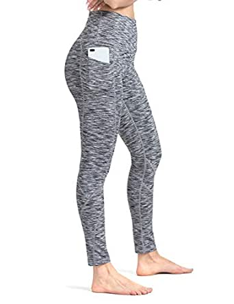 ALONG FIT Capri Pants with Pockets, High Waisted Capri Leggings for Yoga