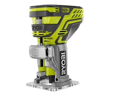 Ryobi P601 One+ 18V Lithium Ion Cordless Fixed Base Trim Router (Battery Not Included ? Tool Only)