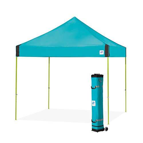 - E-Z UP Vantage Instant Shelter Canopy, 10 by 10', Splash