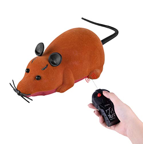 (Remote Control Tarantula Rat Toy -Halloween Prank Robot Kit for Kids, Fake Mouse Realistic Scary Animal Toys for Party or Joke Gift for Kids Adults)