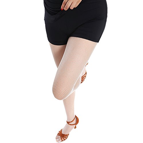 dc453228e3d39 Women's Fishnet Stockings Tights - 4 Pairs Sexy Fishnets Pantyhose for Party ,Height: 5