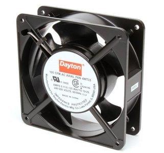 """Dayton 4-11/16"""" Square Axial Fan, 230VAC"""