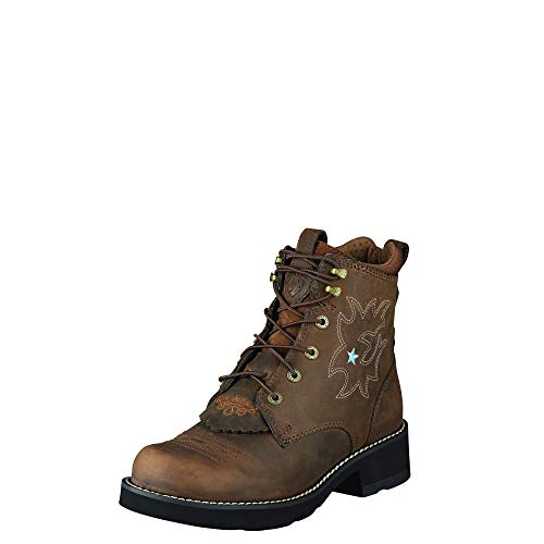 Probaby Boots Lacer - ARIAT Women's Probaby Lacer Boot Driftwood Brown Size 8.5 B/Medium Us