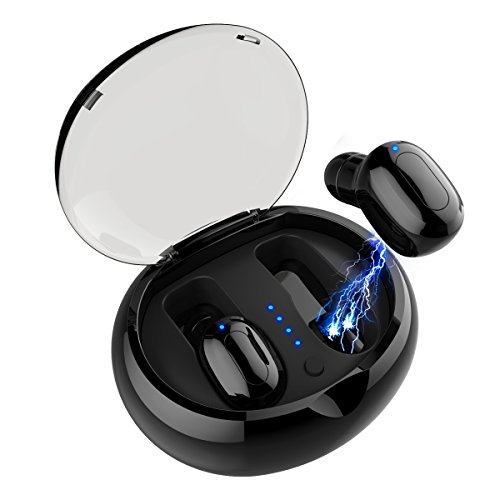 Wireless Bluetooth Earbuds - Sweatproof Stereo Sport Headsets Hight Quality Headphone Premium Sound with Charging Case Secure Fit - Easy to Pair Apple Iphone, Samsung and Other Phone - Turandoss