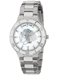 Game Time Womens NHL-PEA-CHI Pearl Watch - Chicago Blackhawks