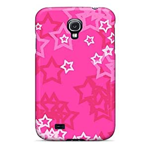 DustinHVance Perfect Tpu Case For Galaxy S4/ Anti-scratch Protector Case (pink Stars) by Maris's Diary