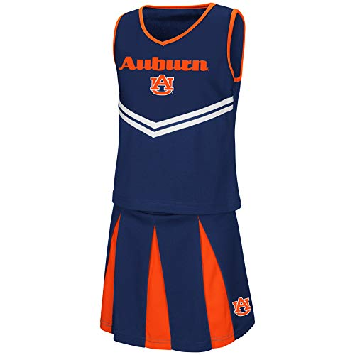 Colosseum Youth NCAA-Girls Cheer Set-Auburn Tigers-Youth Medium