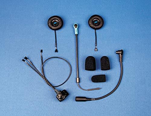 J&M Corporation HS-EHI801-LDC-XHO Elite Headset Speaker Custom Open Face/Flip Style