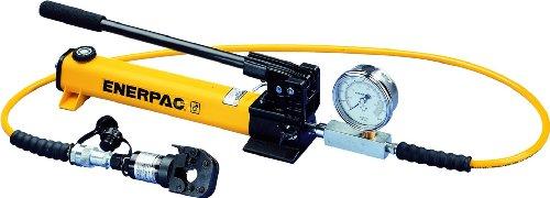 ENERPAC stc-750 a herramienta y bomba Set con whc750 hidráulico cortador y patg1102 N