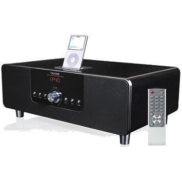 bc25aa12f2f8 Microlab MD332-Hifi 2.1 Système audio avec radio réveil et station  d accueil pour