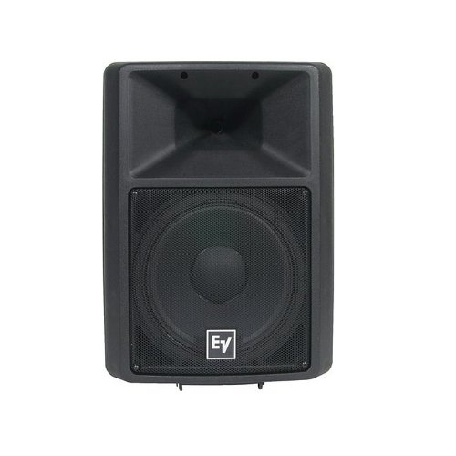 New Electro-Voice   EV, 12-Inch Two-Way Full-Range Loudspeaker, SX300E with 1.25-inch DH3/2010A Titanium HF Compression Driver, Power Handling: 300 W Continuous, 1200 W - Driver Titanium Hf