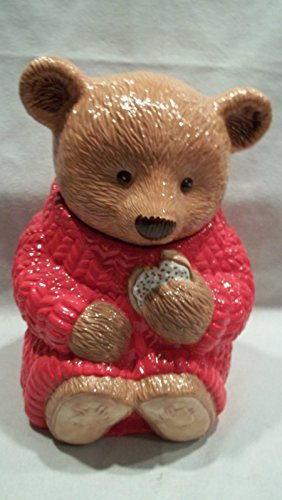 Hallmark Teddy Bear Cookie Jar<br>12