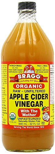 Bragg USDA Gluten Free Organic Raw Apple Cider Vinegar, With the Mother (32)